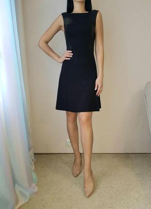 Черное маленькое платье armani exchange, размер xs