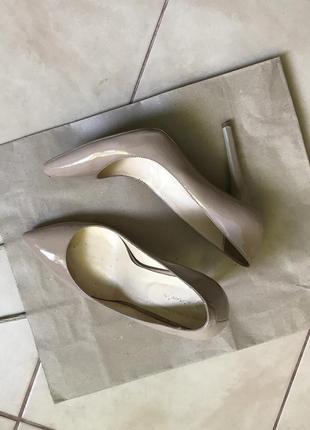 Лодочки туфли на высоком каблуке кожа kachorovska
