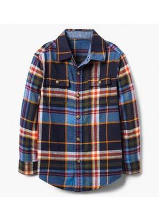 Фланелевая рубашка для мальчика 4-6, 7-9 лет gymboree