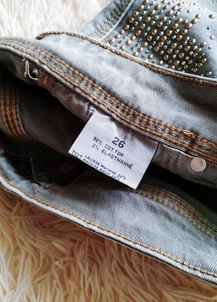 ♠️ джинсы скинни с высокой посадкой ♠️7 фото