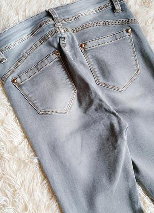 ♠️ джинсы скинни с высокой посадкой ♠️4 фото