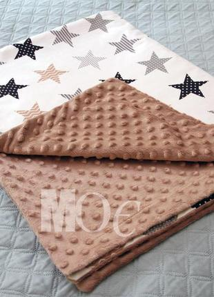 Пледик покривальце ковдрочки одеяло сатин