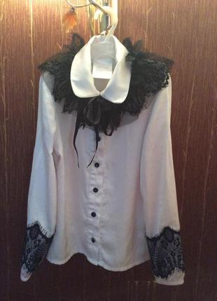 Mone блузка белоснежная