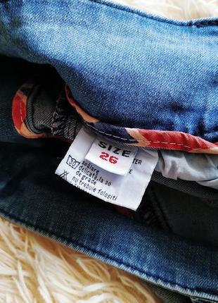 ♠️ джинсы варенки скинни, с присобраными коленками ♠️7 фото