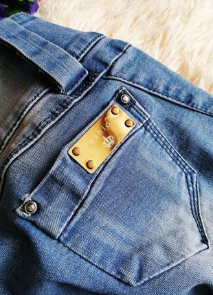 ♠️ джинсы варенки скинни, с присобраными коленками ♠️6 фото