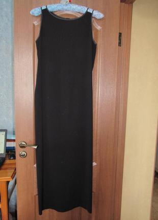 Дизайнерское идеальное черное платье от pierantoniogaspari. лучшая цена!