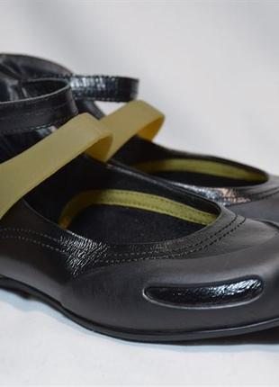 Кожаные балетки camper senda туфли босоножки. оригинал. 38 р./24 см.