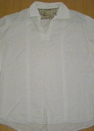 Льняная рубашка next linen