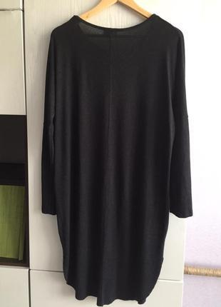 Платье свободное, трикотаж