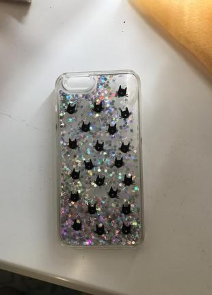 Iphone 6/6s case чехол с водой пластиковый