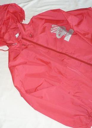 Лёгкая куртка ветровка дождевик капюшон