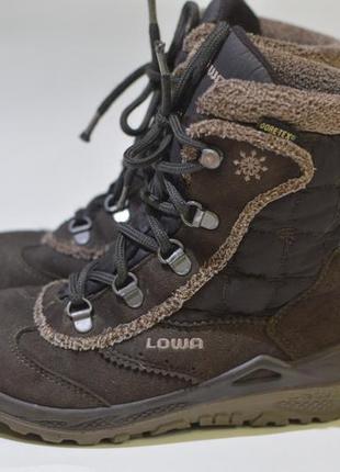 Зимние ботинки lowa klara gtx mid gore-tex kids