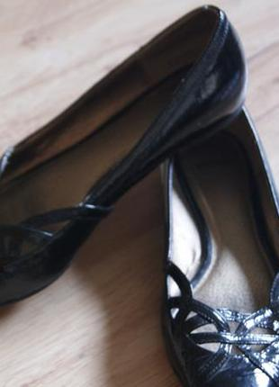 Туфли балетки кожаные bronx bronx