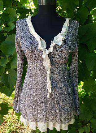 Симпатичная блуза туника италия❤️
