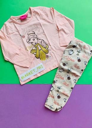 Пижама примарк для девочки с аппликацией и принтом в наличии