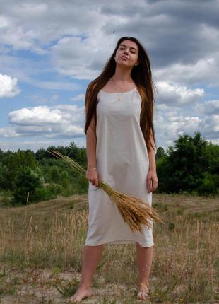 """Льняное платье leben"""""""