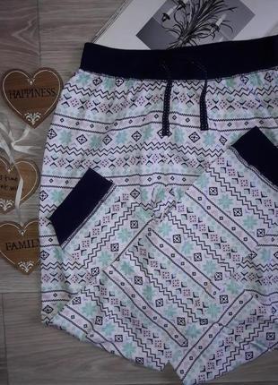 New look красивые хлопковые пижамные штаны р xs-s сток
