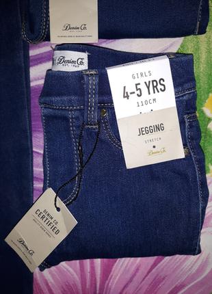 Джегинсы,джинсы,лосины,леггинсы из денима,джинсовые леггинсы,скинны,узкачи1,5-7лет2 фото