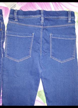 Джегинсы,джинсы,лосины,леггинсы из денима,джинсовые леггинсы,скинны,узкачи1,5-7лет3 фото