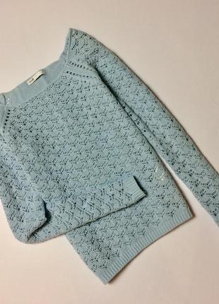 Очень нежный хлопковый свитерок