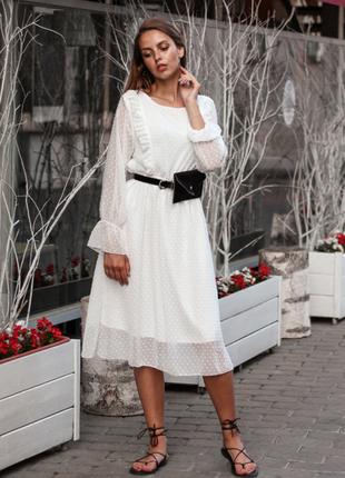 ❗️скидка 50 грн сегодня❗️ белое платье