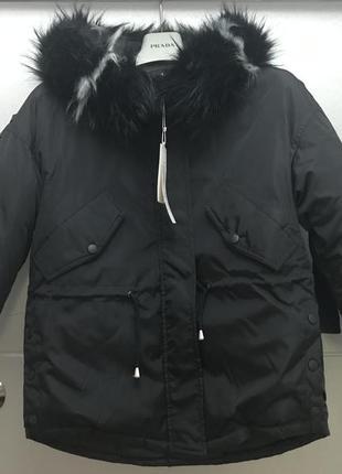 Курточка-парка стильная