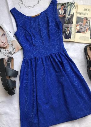 Шикарное синее платье на вечер👗