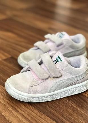 Кеды детские puma кожа кроссовки