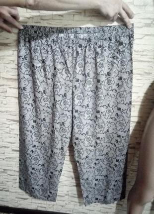 Натуральные летние штанишки большой размер