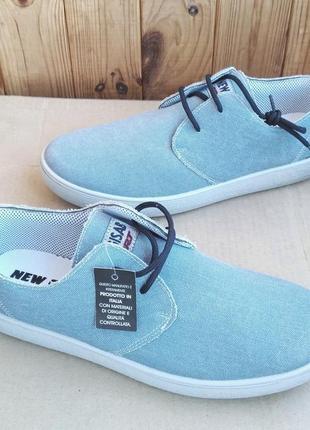 Новые стильные итальянские мокасины кеды туфли new gisab