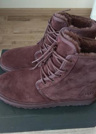 Оригинал ugg зимние ботинки нат замша us 15 eur 48-49, ст 32- 32,5 см