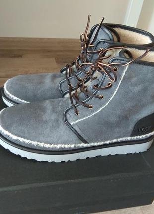 Оригинал ugg зимние ботинки нат замша us 15 eur 49-49, 5, ст 32, 5 см