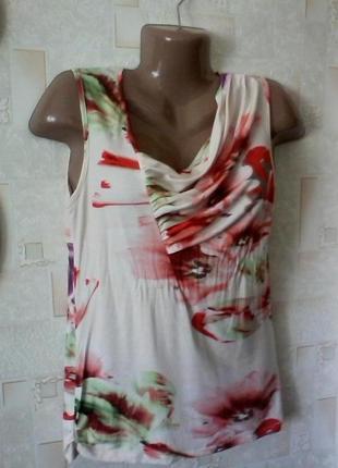 Вискозная майка футболка, разм. 46