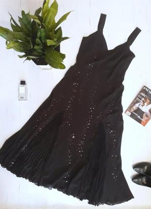Крутое вечернее платье в пол uk12