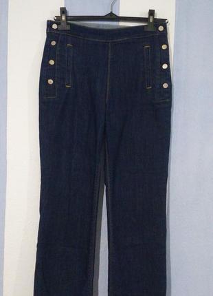 Шикарні укорочені джинси стан нових