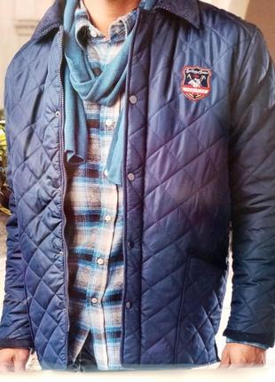 Стеганная стильная мужская куртка (германия)