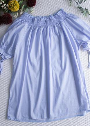Летняя блуза на плечи