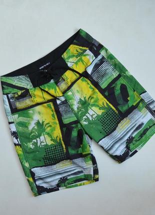 Яркие пляжные шорты animal шорти на пляж