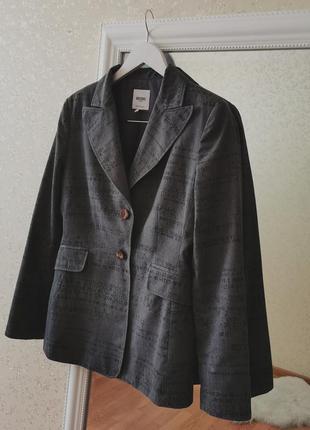 Винтажный итальянский брендовый пиджак