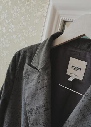 Винтажный итальянский брендовый пиджак6 фото