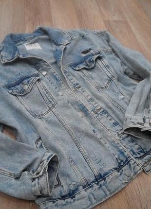 Мужская джинсовая курточка, джинсовка