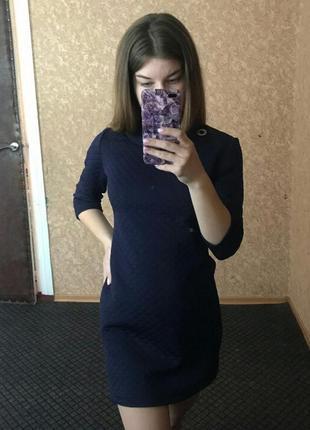 Плотное платье