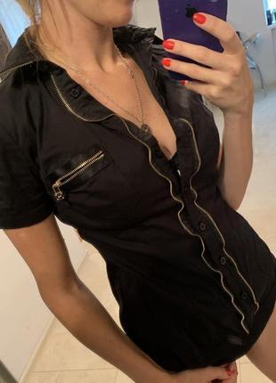 Боди-рубашка 100% коттон