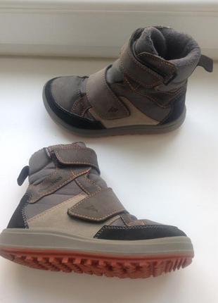 Детские кожа сапоги, ботинки/ дитячі чобітки, черевики quechua novadry