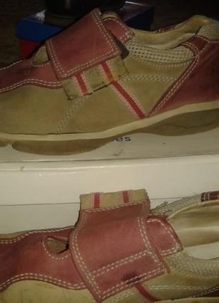 Туфли нубук для девочки