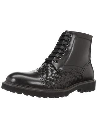 Шикарные кожаные ботинки zanzara 43р/29см оригинал usa