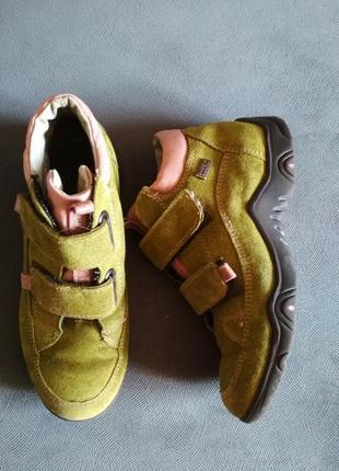 Ботинки деми ricosta, черевики кожа/замш, черевички sympatex