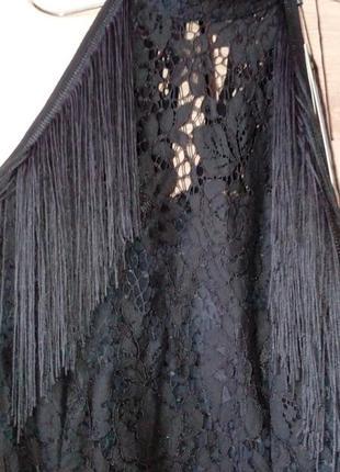 Красивое ажурное вечернее, бальное платье4 фото