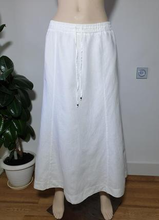Льняная юбка marella sport