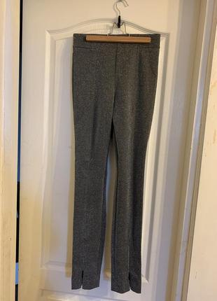 Блестящие  нарядные лосины штаны